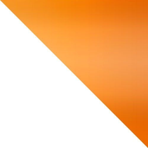 fehér / narancs fényes