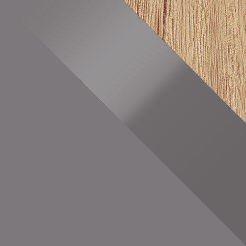 Antracit / Antracit magasfényű + Tölgy San remo