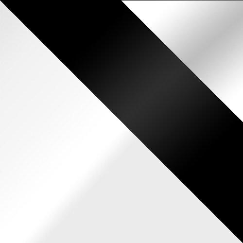 Fehér / Fekete üveg + Fehér üveg