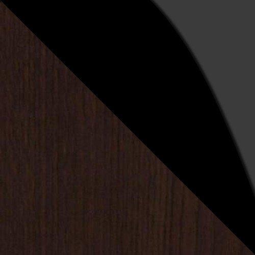 Wenge / Fekete üveg