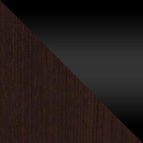 Wenge / Fekete magasfényű