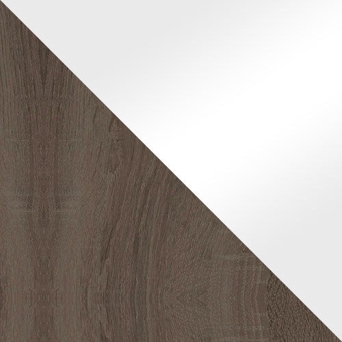 Trufel / Fehér magasfényű